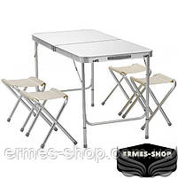 Складной туристический стол Folding Table Convenient to Take | 4 стула, фото 2