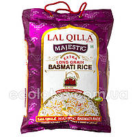 "Рис басмати extra long majestic ""Lal Qilla"" 5 кг, Индия"