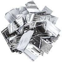 Конфетти-Метафан ЛК608 Серебряно-Белый 2х6 1кг