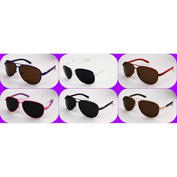 Дитячі сонцезахисні окуляри 010 Pol Graff mix ( 6 кольорів )