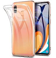 Чехол для Samsung Galaxy M40 М405 силиконовый прозрачный ультратонкий (Самсунг М40)