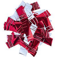 Конфетти-Метафан ЛК613 Красно-Белый 2х6 1кг, фото 1
