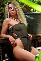 Женский пляжный слитный цельный купальник  Nova Vega Swamp Breeze oversize