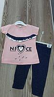 """Дитячий костюм для дівчинки """"Сердечко"""" розмір 3-6 років, колір уточнюйте при замовленні, фото 1"""
