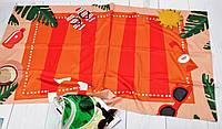 Подстилка для пляжа коврик пляжное покрывало прямоугольное