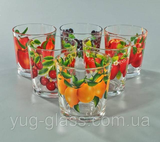 стакани низькі широкі