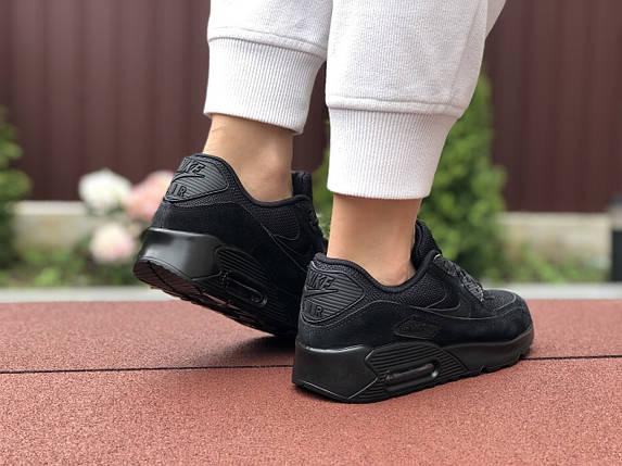 Кросівки жіночі демісезонні чорні класік, фото 2
