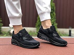 Кросівки жіночі демісезонні чорні класік, фото 3