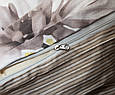 Євро комплект постільної білизни сатин S-355, фото 4