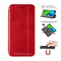 Чехол книжка Gelius для Samsung Galaxy M40 M405 красный (Самсунг М40)