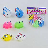 Набор пищалок Рыбки и лягушки Разноцветные 2-323-72499, КОД: 955670