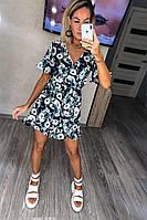 Комбинезон женский шортами модный крой Черный4, фото 1
