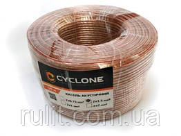 Кабель акустический CYCLONE 2*1мм