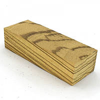 Брусок для рукоятки ножа древесина Зебрано 125х50х29