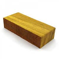 Брусок для рукоятки ножа древесина Окан 125х50х29, фото 1