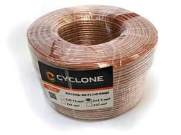 Кабель акустический CYCLONE 2*2мм