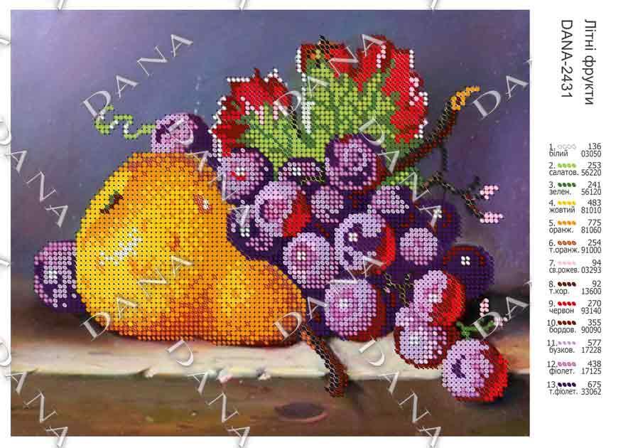 Літні фрукти