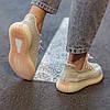 Жіночі кросівки Adidas Yeezy Boost 350 V2 Citrin All reflective, фото 3