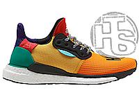 Мужские кроссовки Pharrell Williams x Adidas Solar Hu Glide Multicolor BB8042