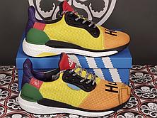 Мужские кроссовки Pharrell Williams x Adidas Solar Hu Glide Multicolor BB8042, фото 2
