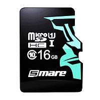 Карта памяти MicroSD для смарфона и планшета Smare RX C6 16GB 10 МБ/с Original Черная