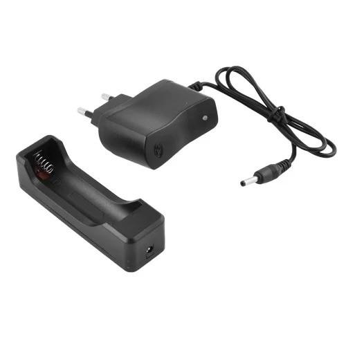 Зарядное устройство зарядка для аккумуляторов Li-ion Charger 1X18650 HD-8007