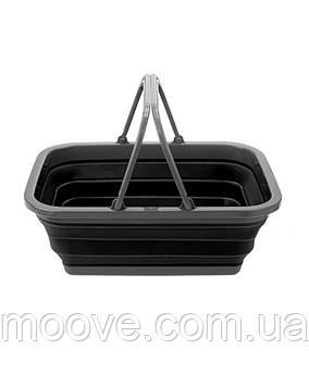 Summit Pop Folding Basket Black/Grey