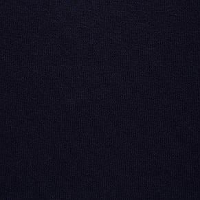 Трикотажное полотно Футер трехнитка на флисе, Темно Синий, с начесом, купить оптом, Украина, фото 2