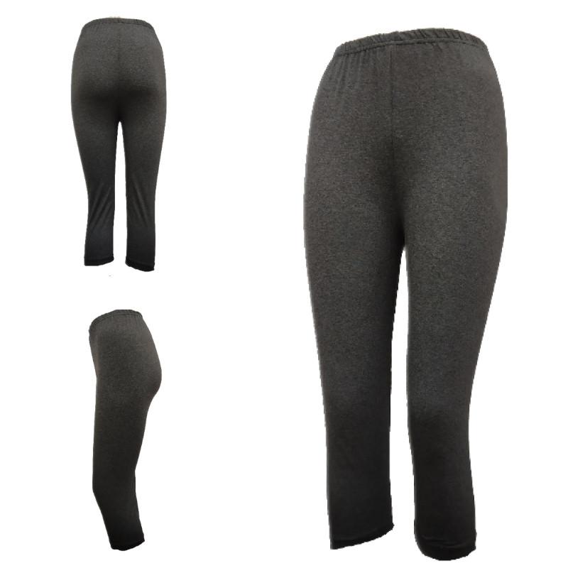 Бриджи женские серые 3/4 ALGI tekstil (в ростовке размеры: 46-48-50-52),20013875