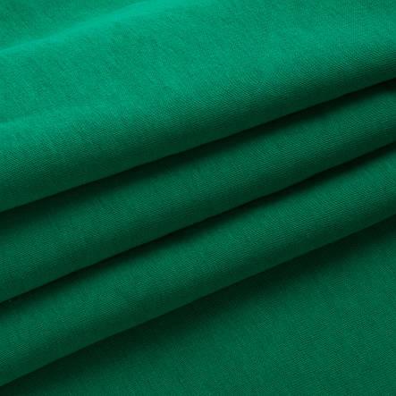 Трикотажное полотно Футер трехнитка на флисе, Зеленый, с начесом, купить оптом, Украина, фото 2
