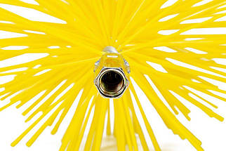Щітка (йорж) пластикова для чищення димоходу Savent 140 мм, фото 3