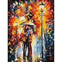 "Картина по номерам ""Поцелуй под дождем"" Белоснежка 30х40 см"
