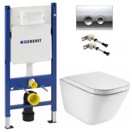 Инсталляция Geberit Duofix с унитазом Roca GAP Clean Rim