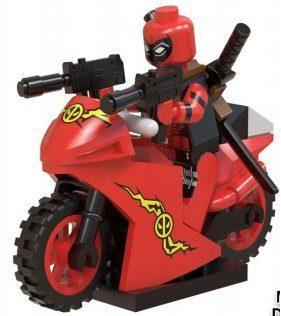 Дедпул Deadpool Люди Икс Супергерой Марвел Аналог лего