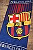 """Пляжний рушник ФК """"Барселона"""" з логотипом улюбленого футбольного клубу, фото 2"""