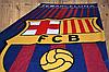 """Пляжний рушник ФК """"Барселона"""" з логотипом улюбленого футбольного клубу, фото 3"""