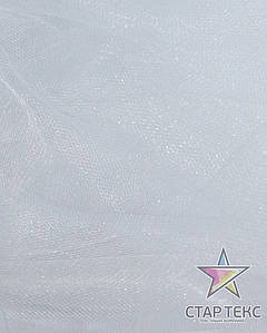 Фатин средней жосткости Crystal Tul Белый