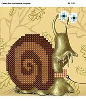 Схема для вышивания бисером ''Улитка на ветке'' А3 29x42см