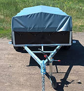 Оцинкованный одноосный бортовой прицеп Кияшко для легкового авто 211PB1102F, фото 2