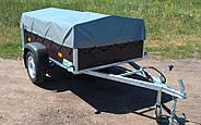Оцинкованный одноосный бортовой прицеп Кияшко для легкового авто 211PB1102F, фото 9