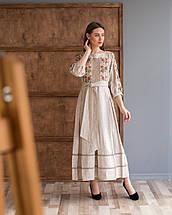 Платье вышивка лен Роксолана, фото 2