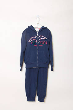 Спортивный костюм Happy House 8 year (123-128 cm) синий, серый (RY-QQ-566_Blue-gray)