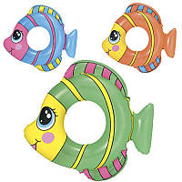 """Круг для плавання """"Рибки"""" (81х76см, від 3 до 6 років) 36шт/упак 36111"""