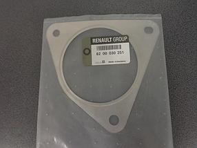 Прокладка, выхлопной (перд.катализатора)  LagunaII-01> Megane-05->Renault-8200030251-Франция Оригинал