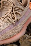 🔥 Кроссовки мужские спортивные повседневные Adidas Yeezy V2 Clay (адидас изи буст клэй коричневые), фото 3