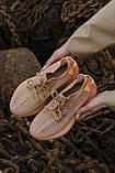 🔥 Кроссовки мужские спортивные повседневные Adidas Yeezy V2 Clay (адидас изи буст клэй коричневые), фото 8