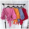 Женская блуза с рукавами фонариками, 4 цвета. АР-0-0620, фото 5