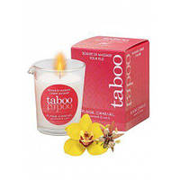 Массажная свеча для женщин с ароматом цветка какао Ruf TABOO 60 гр