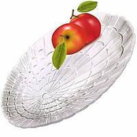 Блюдо стеклянное овальное Pasabahce Атлантис 230 x 320 mm (10239)