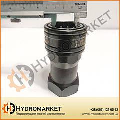 """Швидкознімна муфта (повний комплект) БРС 1 дюйм (1"""" BSP ISO 36х30 мм)"""